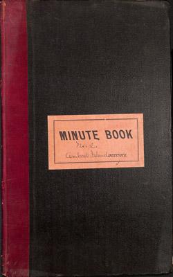 Amherst Island WI Minute Book: 1906-15