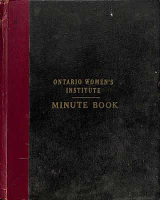 Amherst Island WI Minute Book: 1939-47