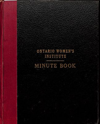 Amherst Island WI Minute Book: 1947-52