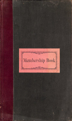 Amherst Island WI Membership Book: 1901-05