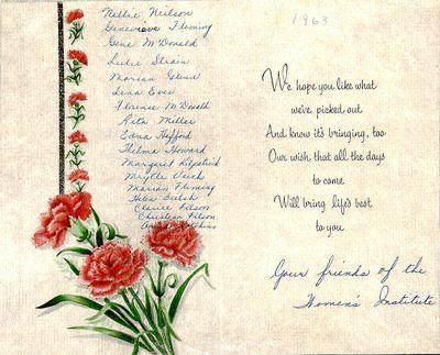 Amherst Island Tweedsmuir History, Volume 3 F1 1994-2003