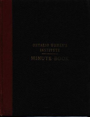Community Beach WI Minute Book, 1948-53
