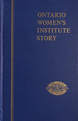 FWIO Ontario Women's Institute Story 1972