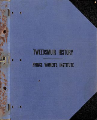 Prince WI Tweedsmuir Community History Volume 1: 1993