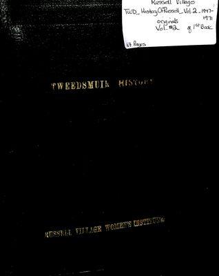 Russell Village Tweedsmuir History, Volume 2