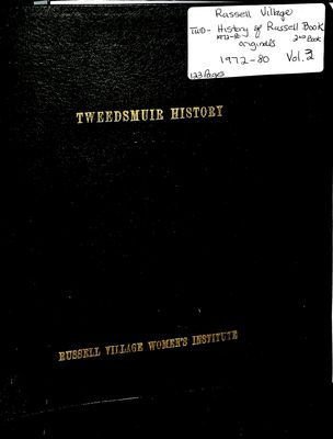 Russell Village Tweedsmuir History, Volume 3