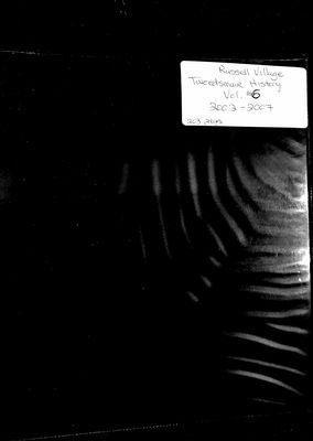 Russell Village Tweedsmuir History, Volume 6 2002-07