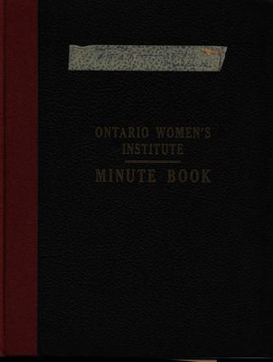 Stoney Creek WI Minute Book, 1967-1969