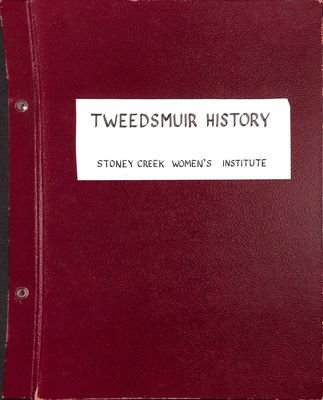 Stoney Creek WI Tweedsmuir Community History, Volume 2