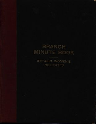 Vinemount WI Minute Book, 1928-1930