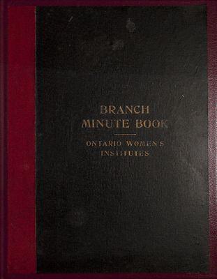 Vinemount WI Minute Book, 1930-1934