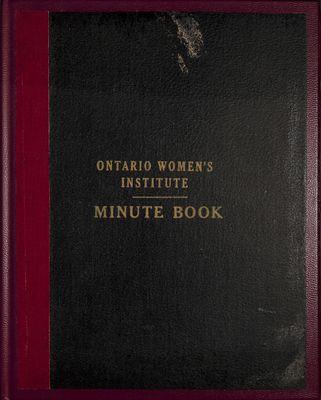 Vinemount WI Minute Book, 1940-1944