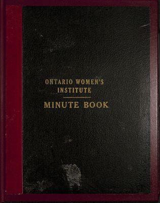 Vinemount WI Minute Book, 1944-1948