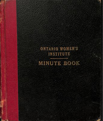Vinemount WI Minute Book, 1948-1951