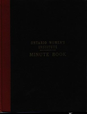 Vinemount WI Minute Book, 1961-1968