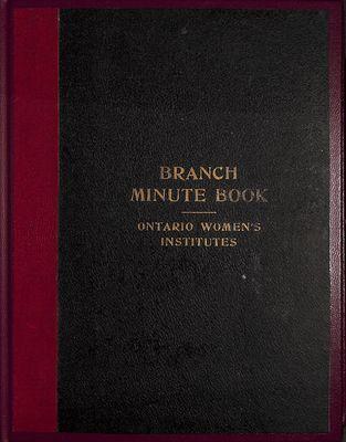 Winona WI Minute Book, 1929-1936