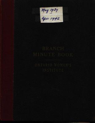 Winona WI Minute Book 1939-1942