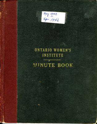 Winona WI Minute Book, 1942-1946