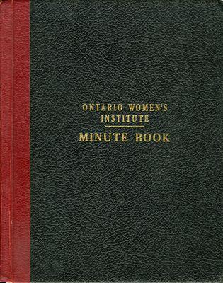 Winona WI Minute Book, 1962-1965