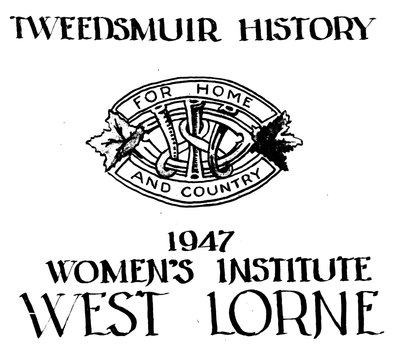 West Lorne Tweedsmuir History