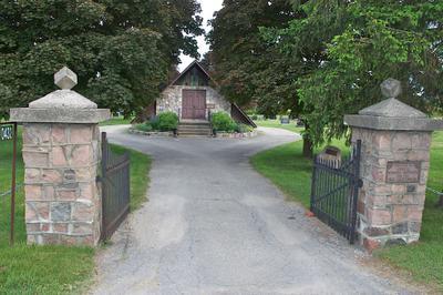 Farnham Cemetery 1967 Gate