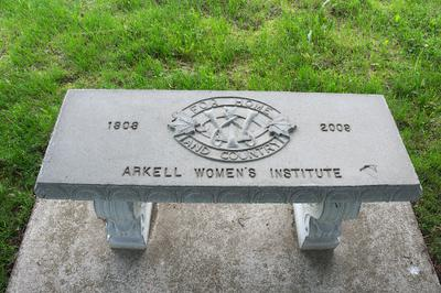 Farnham Cemetery WI 100th Anniversary Bench
