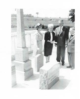 Kilmartin Cemetery Dedication- Yarmouth Glen WI