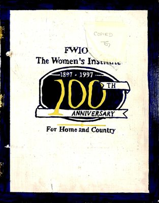 Rednersville WI Tweedsmuir Community History - Book 4