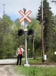 Trout Mills Railroad Crossing Light