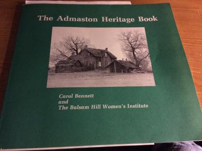Admaston Heritage Book