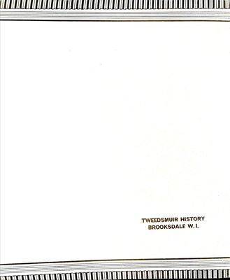 Brooksdale WI Tweedsmuir Community History: Volume 5, 50th Anniversary
