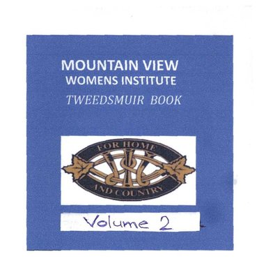 Mountain View WI Tweedsmuir Community History, Volume 2