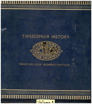 Mountain View WI Tweesdmuir Community History, Volume 1