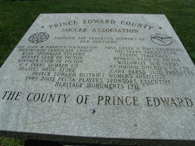 Johnson Soccer Fields, Picton