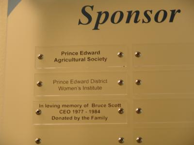 Sponsor, Prince Edward District Memorial Hospital Foundation