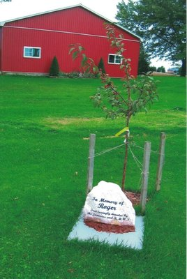 Memorial Tree Planted by Kingsmill-Mapleton WI