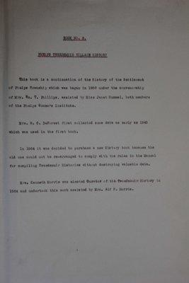 Phelps WI Tweedsmuir Community History, Volume 2: Village History