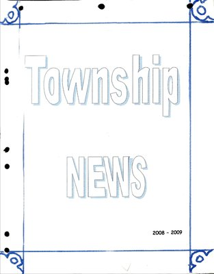 Bailieboro WI Tweedsmuir Community History, Volume 3 Part 2: Township News, 2008-2009