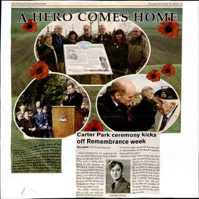 Blackstock WI Tweedsmuir Community History, 2009-12