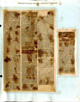 Blackstock WI Tweedsmuir Community History, Education Vol. 1