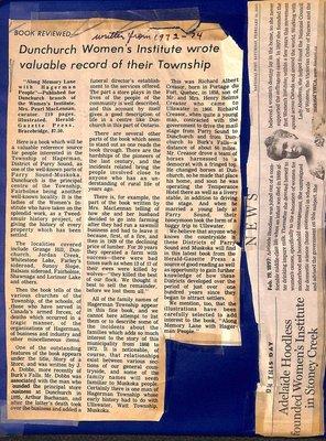 Dunchurch WI Tweedsmuir Community History, Volume 5