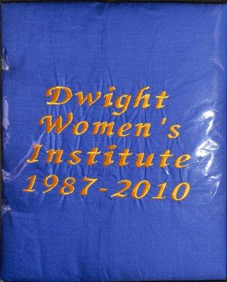 Dwight WI Tweedsmuir Community History, Volume 1