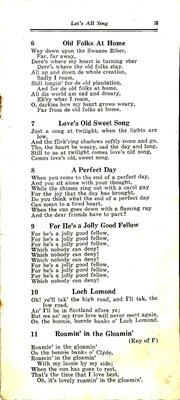 Kearney WI Song Book