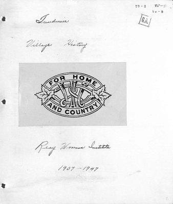 Reay WI Tweedsmuir Community History, Volume 1