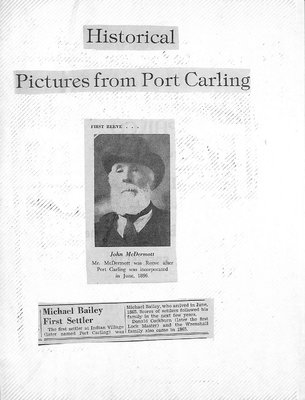 Sanford-Port Carling WI Tweedsmuir Community History, Volume 5