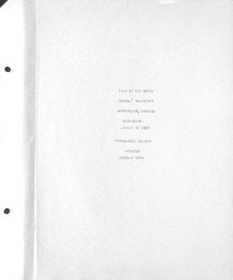Star of the North WI Tweedsmuir Community History, Volume 1