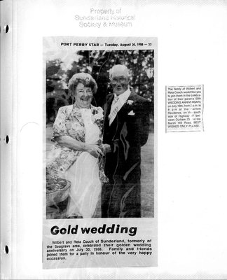 Sunderland WI Tweedsmuir Community History, Volume 11