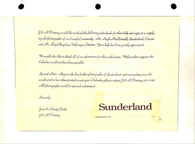 Sunderland WI Tweedsmuir Community History, Volume 15