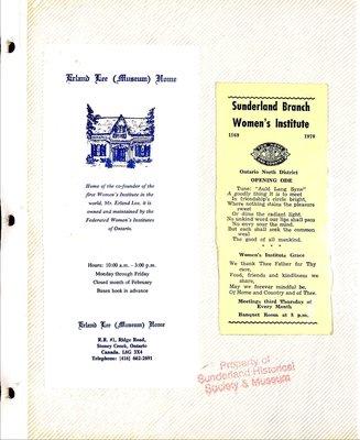 Sunderland WI Tweedsmuir Community History, Volume 4
