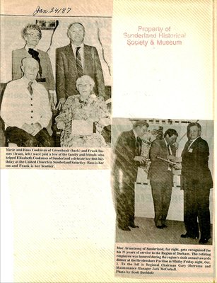 Sunderland WI Tweedsmuir Community History, Volume 7, Part 2